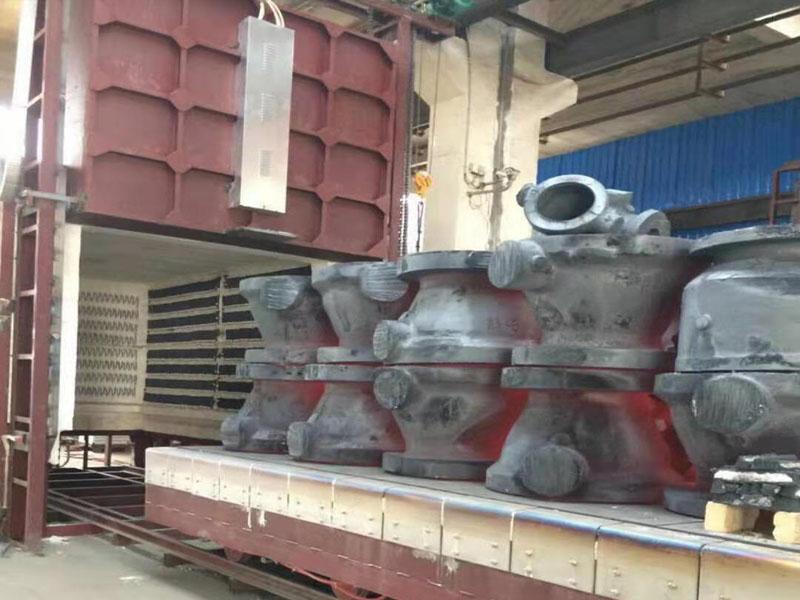 上海台车式退火炉
