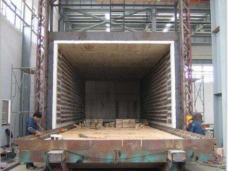台车式焊接件退火炉