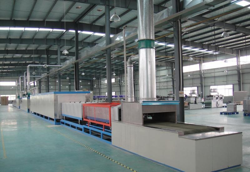 连续式铝散热器钎焊炉